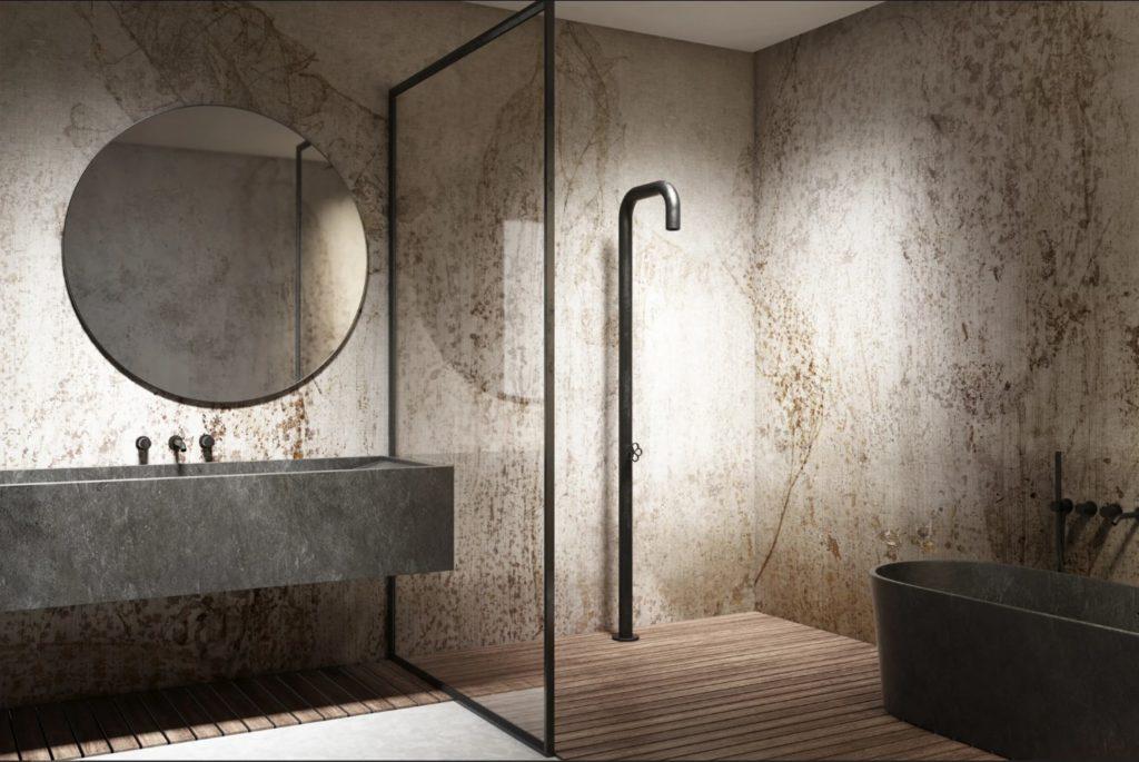 "Exemple salle de bain ""Clessidra"""