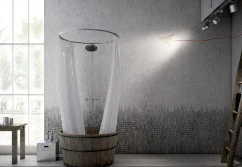 """Exemple salle de bain """"Flap-Flap"""""""